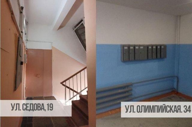 В Тюмени после проверок ГЖИ в трех домах отремонтировали подъезды