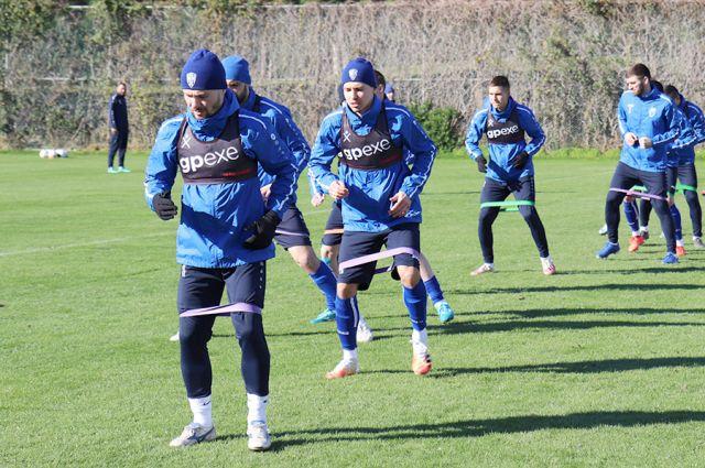 Футбольный клуб «Нижний Новгород» продолжает подготовку к сезону.