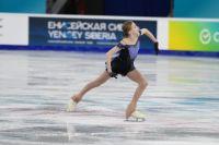 Софья Муравьева лидирует после исполнения короткой программы.