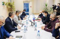 Глава республики встретился с генеральным секретарем Федерации бокса России