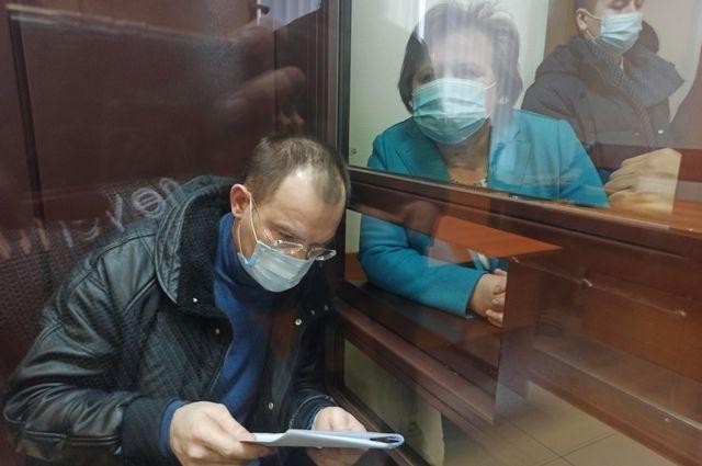 Рамзиль Кучарбаев в суде.