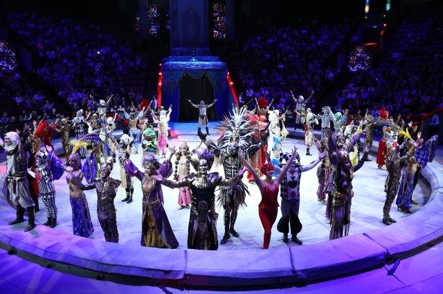 Это не представление, это цирковой спектакль.!