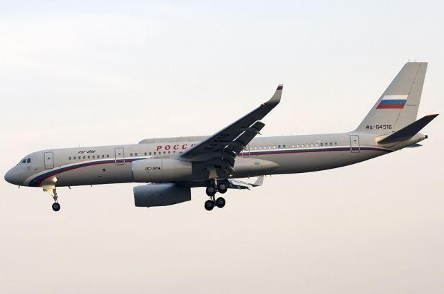 Над Оренбургской областью 5 февраля пролетел самолет «судного дня» ТУ-214 СР.