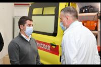 Глава ЯНАО посетил станцию Скорой медицинской помощи в Новом Уренгое