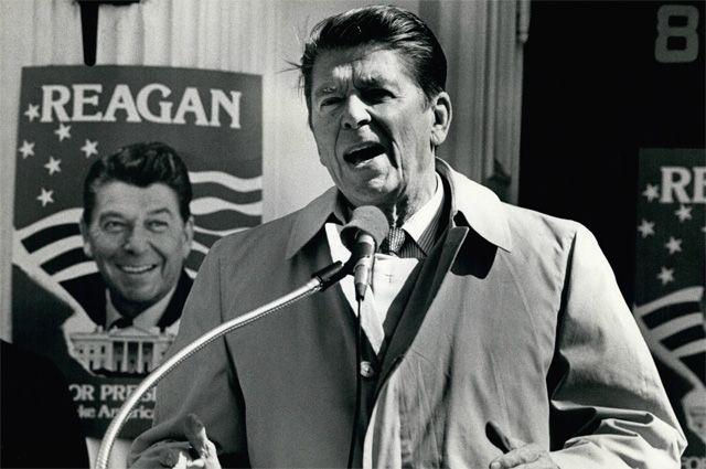 Рональд Рейган. 1981 г.