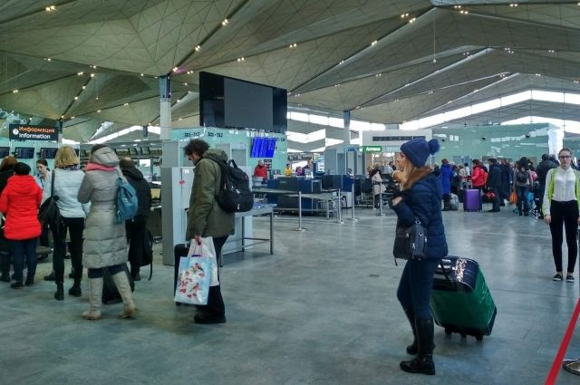 Международные вылеты ограничены, стали популярны внутренние рейсы