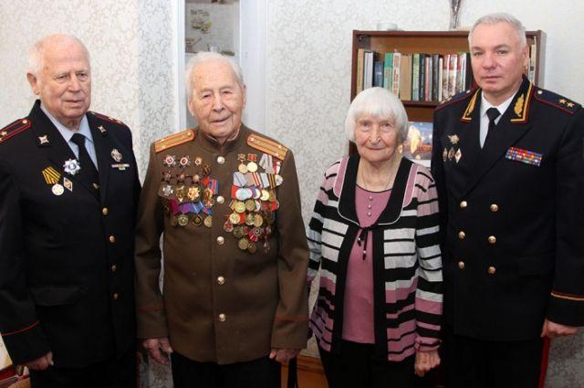 Ветеран Иван Шпагин бил врага на фронтах Великой Отечественной войны, не щадя своей жизни.
