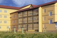 Новое четырёхэтажное здание будет соответствовать всем современным требованиям.