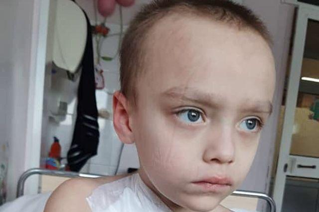 7-летнему жителю Балтийска вновь нужна помощь