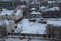 Собственнику «Атриума» все-таки придется засыпать опасный котлован в центре Оренбурга.