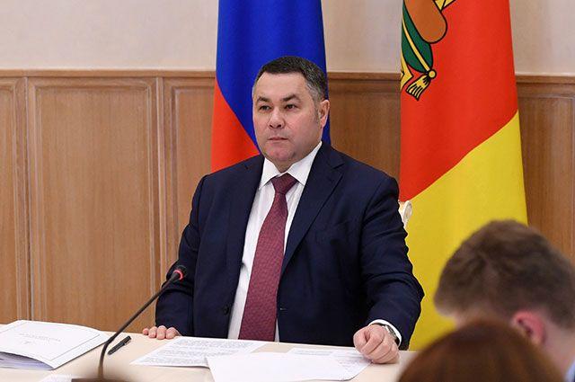 Губернатор Тверской области Игорь Руденя.