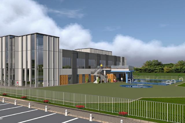 Уникальный центр будет создан в Кировском районе возле парка «Сибсталь».