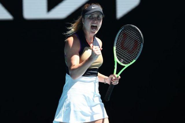Свитолина рассказала, что помогло ей победить в первом раунде AO-2021