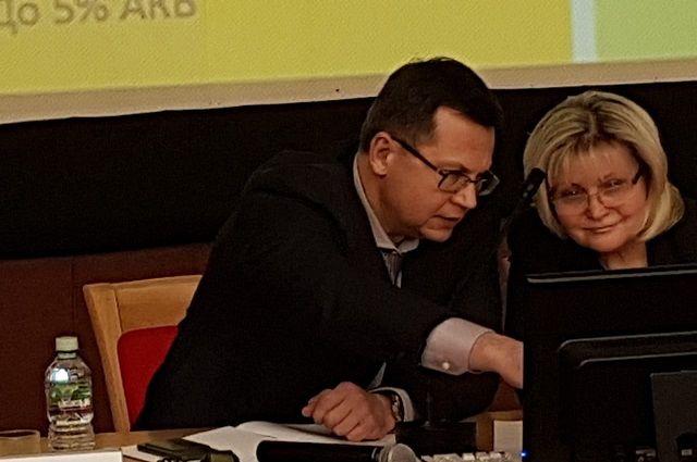 Тема обучения и подготовки квалифицированных кадров для Алексея Лялина и Ольги Ильиной является прерогативной на протяжении многих лет (фото из архива)