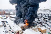 Общая площадь, охваченная огнём, составила 3900 кв. метров.