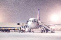 В международном аэропорту Борисполь отменяются и задерживаются рейсы.