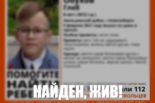 Восьмилетнего мальчика нашли.  Он жив и здоров. Ребенка передали родителям.