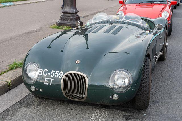 Jaguar C-Type.