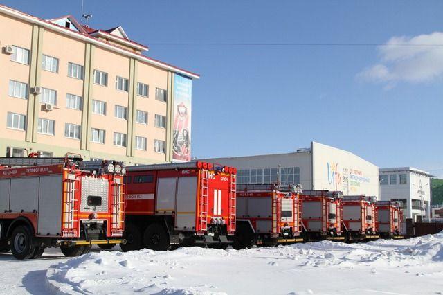 Новая пожарная техника поступила в четыре района и два города Башкирии