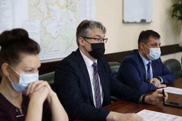 Совещание по вопросам снегоуборки состоялось 9 февраля.