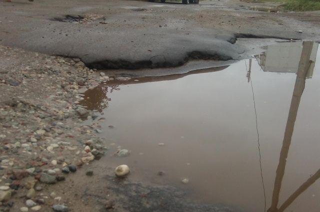 В Сорочинском городском округе выявили опасный участок трассы Оренбург-Самара.