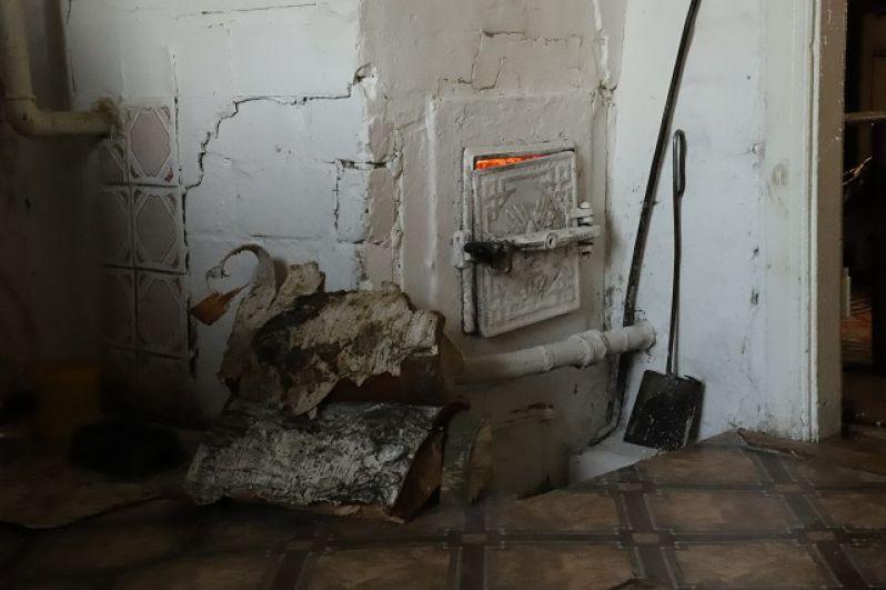 Печное отопление в Тюменской области, 2021.