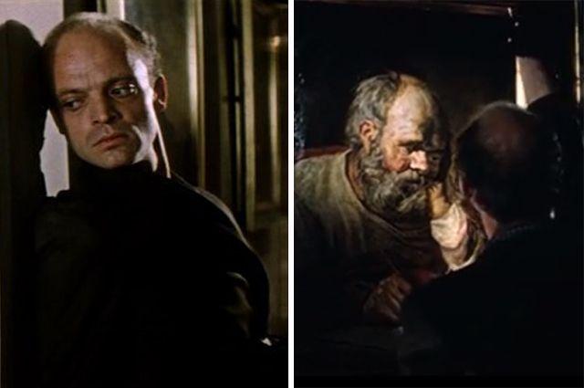 По сюжету фильма кражу картины «Святой Лука» совершает вор-рецидивист «Граф» (его роль мастерски сыграл Владислав Дворжецкий). На самом деле похитил шедевр простой советский реставратор.