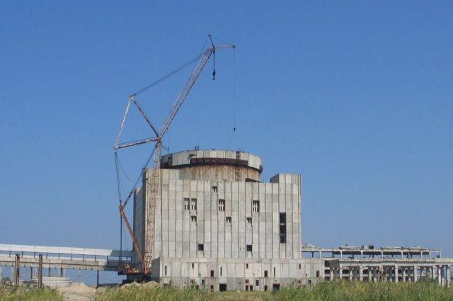 Крымская АЭС в Щелкино.