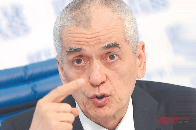 Онищенко поставил Удмуртию в пример другим регионам
