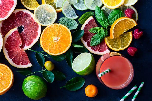Польза соков. Какие полезные вещества содержатся в напитках из цитрусовых