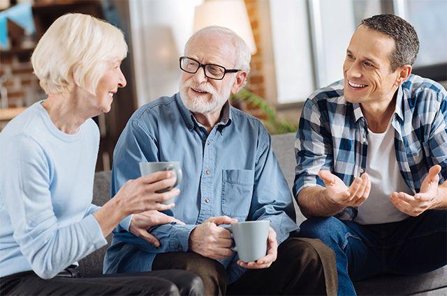 Выдержка иучастие. Правила разумного общения спожилыми родителями