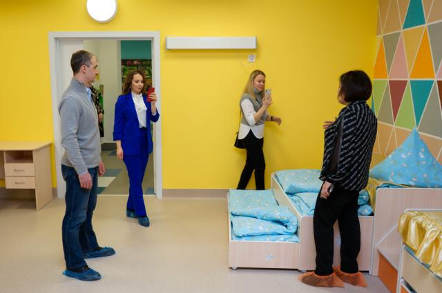 Мамы вместе с градоначальником Алексеем Титовским побывали в гостях в «Орленке»