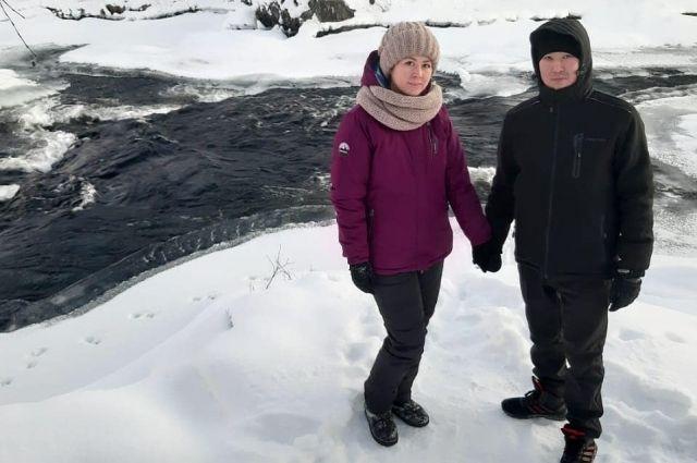 Мади и Райгуль Кусановы восхищаются заполярной природой и добротой северян.