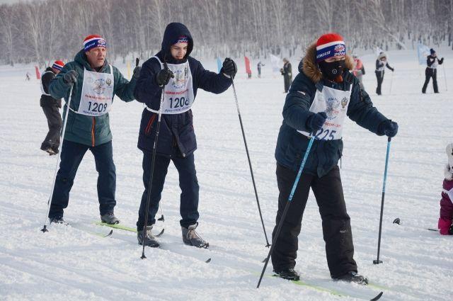 Организаторы решили не морозить лыжников.