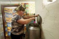В доме многодетной семьи Коуровых печка топится в два раза дольше обычного.