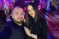 Ярослав Сумишевский с женой.