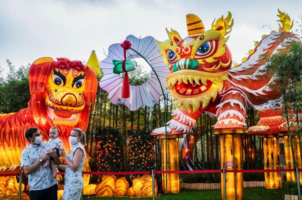 Новый год в Сингапуре.