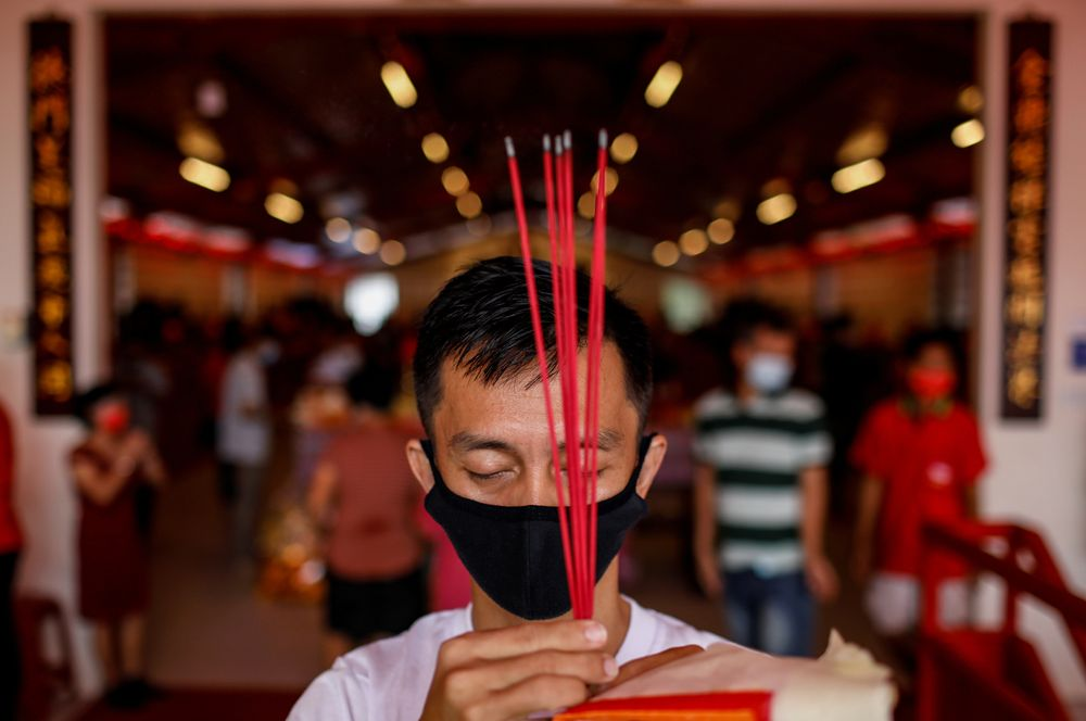 Новый год в Индонезии.