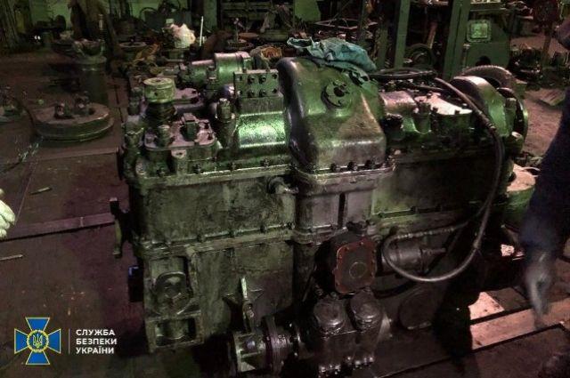 СБУ разоблачила схему присвоения средств при ремонте двигателей для УЗ.