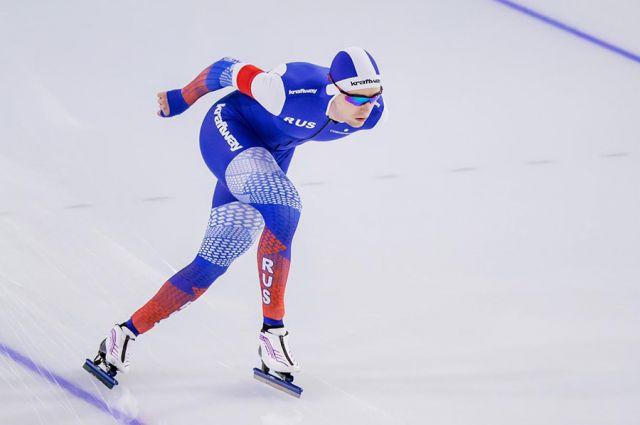 Трижды за неделю нижегородский конькобежец поднялся на третью ступень пьедестала Кубка мира.