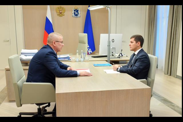 Глава Ямальского района рассказал губернатору округа об итогах 2020 года