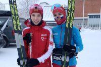 Вероника Степанова (справа) со своей подругой по команде Евгенией Крупицкой