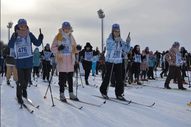 «Лыжню России» в Башкирии пробежали 2-летняя девочка и 91-летний мужчина