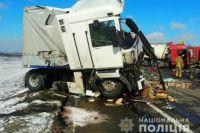 В Одесской области столкнулись два грузовых авто: есть погибшие.