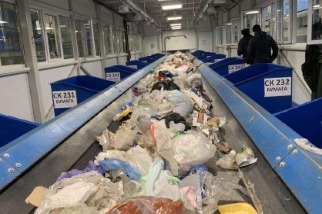 В Тобольске на мусоросортировочном заводе нашли тело младенца