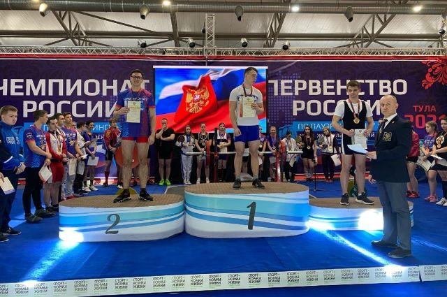 Алексей Севрюков стал абсолютным победителем среди спортсменов до 18 лет