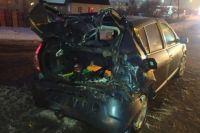 В Оренбурге 12 февраля на объездной дороге произошла авария, в которой пострадали двое детей.