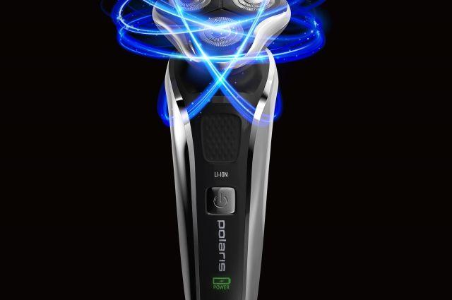 Новая электрическая бритва Polaris PMR 0307RC PRO 5 BLADES+ подстроится под контуры вашего лица.