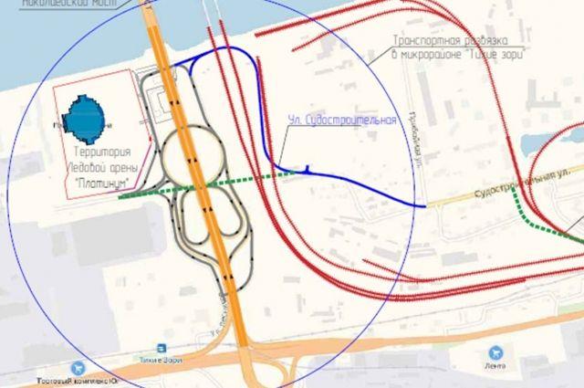 Дорогу протяженностью 1,07 км планируют начать строить уже в следующем году.