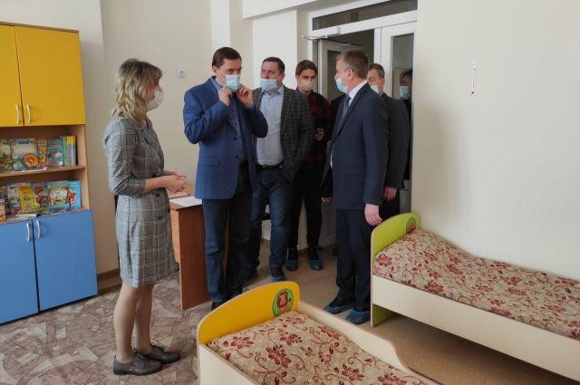 На церемонии побывали глава Новосибирского района и депутат Государственной Думы РФ.